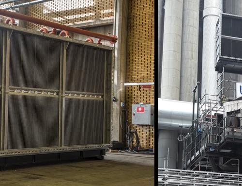 Røggasrensningsystem til affaldsforbrændingsanlæg i Uppsala